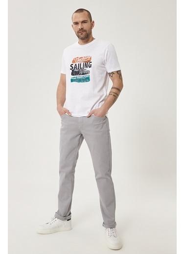 Altınyıldız Classics 360 Derece Her Yöne Esneyen Rahat Slim Fit Pantolon 4A0121200002 Gri